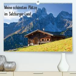 Meine schönsten Plätze im Salzburger Land (Premium, hochwertiger DIN A2 Wandkalender 2021, Kunstdruck in Hochglanz) von Kramer,  Christa