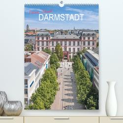 Meine Stadt Darmstadt (Premium, hochwertiger DIN A2 Wandkalender 2021, Kunstdruck in Hochglanz) von Scherf,  Dietmar