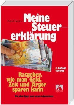 Meine Steuererklärung von Beeler,  Adolf