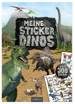 Meine Sticker-Dinos von Schumacher,  Timo