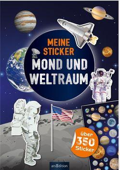 Meine Sticker – Mond und Weltraum von Bräuer,  Ingrid