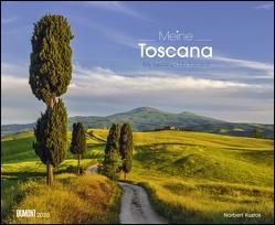 Meine Toscana – Toskana 2020 – Wandkalender 52 x 42,5 cm – Spiralbindung von DUMONT Kalenderverlag, Kustos,  Norbert