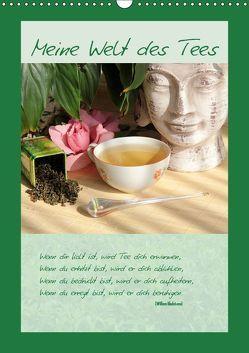 Meine Welt des Tees (Wandkalender 2019 DIN A3 hoch) von Thiem-Eberitsch,  Jana