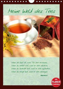 Meine Welt des Tees (Wandkalender 2019 DIN A4 hoch) von Thiem-Eberitsch,  Jana