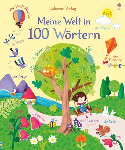 Meine Welt in 100 Wörtern von Brooks,  Felicity, Touliatou,  Sophia