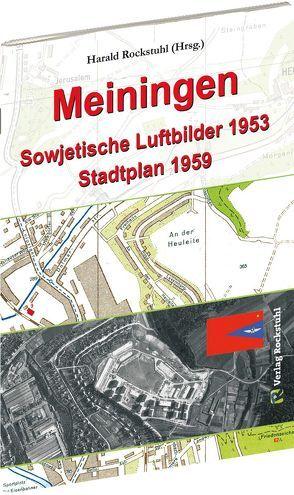 MEININGEN aus der Luft 1953 von Rockstuhl,  Harald