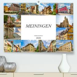 Meiningen Impressionen (Premium, hochwertiger DIN A2 Wandkalender 2020, Kunstdruck in Hochglanz) von Meutzner,  Dirk