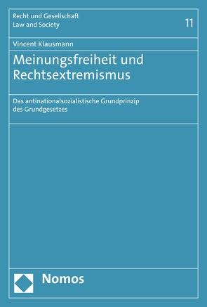 Meinungsfreiheit und Rechtsextremismus von Klausmann,  Vincent