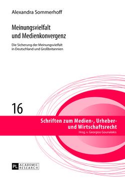 Meinungsvielfalt und Medienkonvergenz von Sommerhoff,  Alexandra