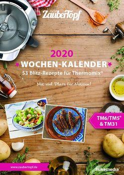 meinZauberTopf Wochenkalender 2020 von meinZauberTopf,  Redaktion