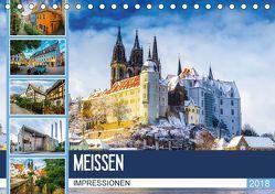 Meißen Impressionen (Tischkalender 2018 DIN A5 quer) von Meutzner,  Dirk