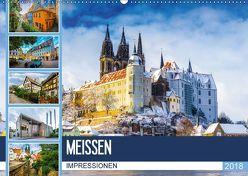 Meißen Impressionen (Wandkalender 2018 DIN A2 quer) von Meutzner,  Dirk