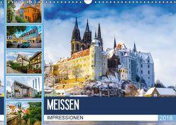 Meißen Impressionen (Wandkalender 2018 DIN A3 quer) von Meutzner,  Dirk