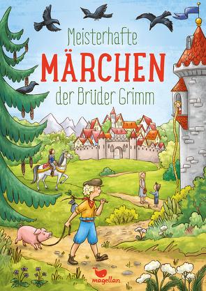 Meisterhafte Märchen der Brüder Grimm von Grimm,  Jacob und Wilhelm, Lauber,  Larisa, Reh,  Rusalka