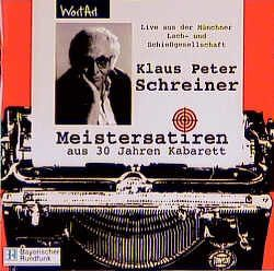 Meistersatiren von Schreiner,  Klaus P
