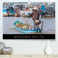 Mekong-Delta (Premium, hochwertiger DIN A2 Wandkalender 2021, Kunstdruck in Hochglanz) von Ristl,  Martin