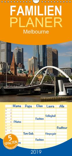 Melbourne – Familienplaner hoch (Wandkalender 2019 , 21 cm x 45 cm, hoch) von Schickert,  Peter
