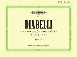 Melodische Übungsstücke von Diabelli,  Anton