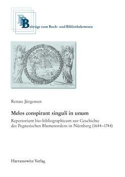 Melos conspirant singuli in unum von Jürgensen,  Renate