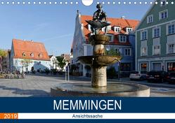 Memmingen – Ansichtssache (Wandkalender 2019 DIN A4 quer) von Bartruff,  Thomas