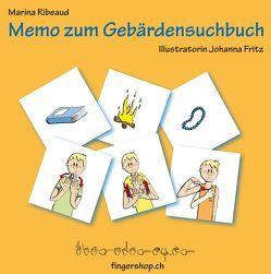 Memo zum Gebärdensuchbuch