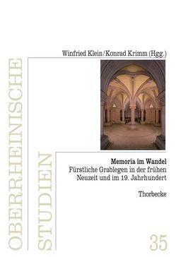 Memoria im Wandel von Klein,  Winfried, Krimm,  Konrad