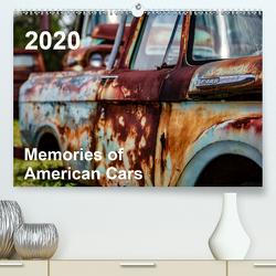 Memories of American Cars (Premium, hochwertiger DIN A2 Wandkalender 2020, Kunstdruck in Hochglanz) von fotografie,  30nullvier