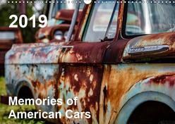 Memories of American Cars (Wandkalender 2019 DIN A3 quer) von fotografie,  30nullvier