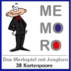 MEMORO – das Merkspiel mit Jongloro von Ehlers,  Stephan