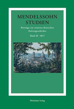 Mendelssohn-Studien von Schmidt-Hensel,  Roland Dieter, Schulte,  Christoph