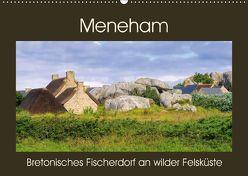 Meneham – Bretonisches Fischerdorf an wilder Felsküste (Wandkalender 2018 DIN A2 quer) von LianeM,  k.A.