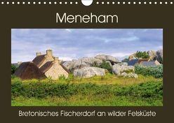 Meneham – Bretonisches Fischerdorf an wilder Felsküste (Wandkalender 2018 DIN A4 quer) von LianeM,  k.A.