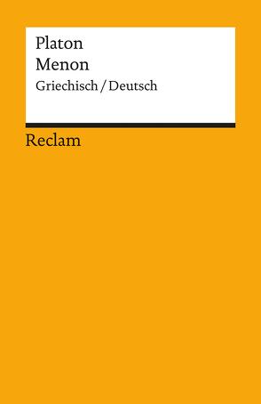 Menon von Kranz,  Margarita, Platon