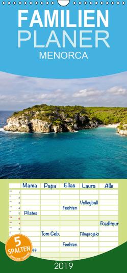 MENORCA 2 – Landschaftsfotografien von Niko Korte – Familienplaner hoch (Wandkalender 2019 , 21 cm x 45 cm, hoch) von Korte,  Niko