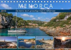 Menorca, die kleine doch grossartige Insel im Mittelmeer (Tischkalender 2019 DIN A5 quer) von Kruse,  Joana