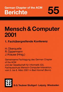 Mensch & Computer 2001 von Krause,  Jürgen, Oberquelle,  Horst, Oppermann,  Reinhard