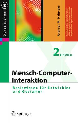 Mensch-Computer-Interaktion von Heinecke,  Andreas M.
