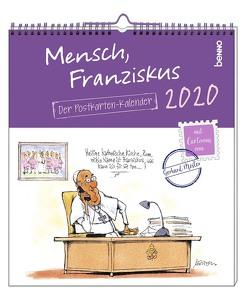 Mensch, Franziskus 2020 von Mester,  Gerhard
