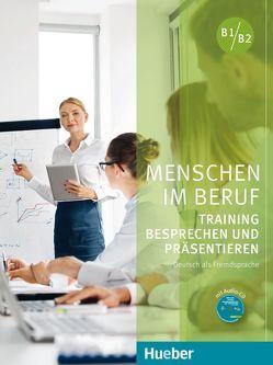 Menschen im Beruf – Training Besprechen und Präsentieren von Schlüter,  Sabine