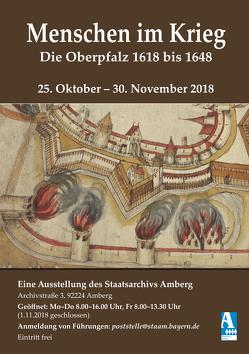 Menschen im Krieg. Die Oberpfalz 1618 bis 1648 von Rösel,  Jochen, Stoiber,  Erwin, Strobel,  Till