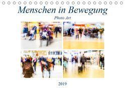 Menschen in Bewegung (Tischkalender 2019 DIN A5 quer) von Hasche,  Joachim