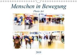 Menschen in Bewegung (Wandkalender 2019 DIN A4 quer) von Hasche,  Joachim