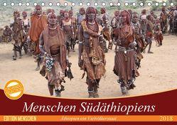 Menschen Südäthiopiens (Tischkalender 2018 DIN A5 quer) von BeSpr,  k.A.