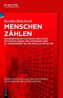 Menschen zählen von Brückweh,  Kerstin, German Historical Institute London