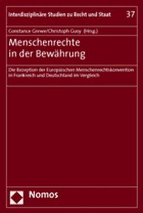 Menschenrechte in der Bewährung von Grewe,  Constance, Gusy,  Christoph