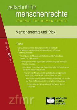 Menschenrechte und Kritik von Debus,  Tessa, Kreide,  Regina, Krennerich,  Michael, Lohmann,  Georg, Malowitz,  Karsten, Pollmann,  Arnd