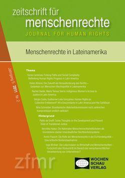 Menschenrechte und Lateinamerika von Debus,  Tessa, Kreide,  Regina, Krennerich,  Michael, Malowitz,  Karsten, Pollmann,  Arnd, Zwingel,  Susanne