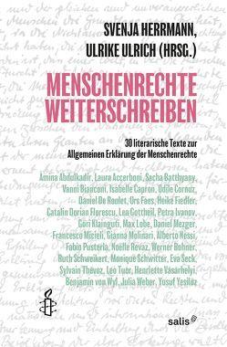 Menschenrechte Weiterschreiben von Herrmann,  Svenja, Ulrich,  Ulrike