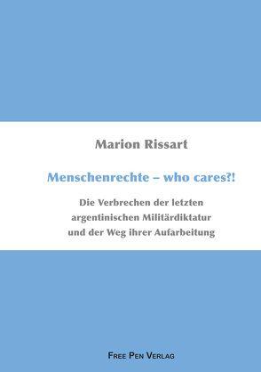 Menschenrechte – who cares?! von Rissart,  Marion