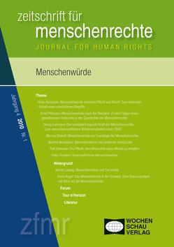 Menschenwürde von Debus,  Tessa, Kreide,  Regina, Krennerich,  Michael, Malowitz,  Karsten, Pollmann,  Arnd, Zwingel,  Susanne